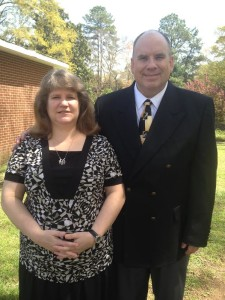 Randall and Donna Smith, Easter, 4-5-15