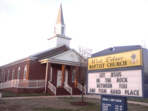 WEST PELZER BAPTIST CHURCH