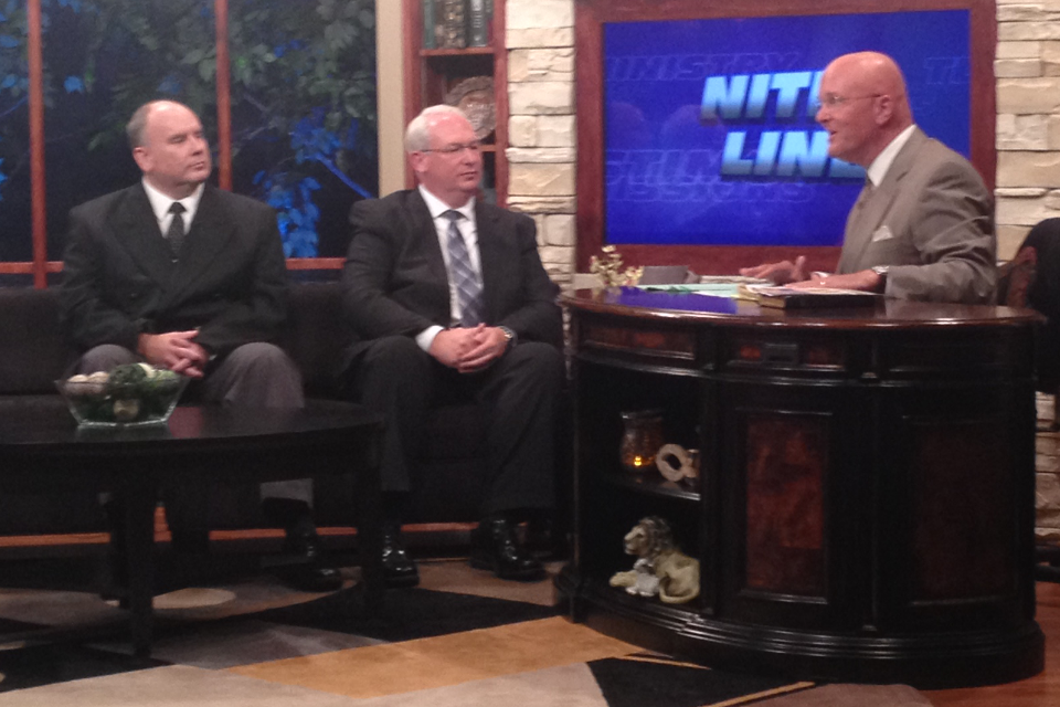 Pastors Appeared on WGGS TV 16 Nite Line, Tuesday, September
